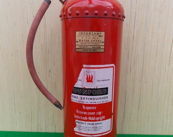 Riveted Fire Extinguisher by Dunford