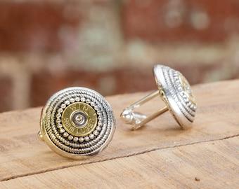 Mens Bullet Cufflinks - Tailored 9mm Cufflinks - Groomsmen Gift / Dad Gift