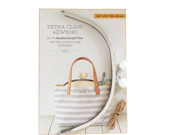Extra Clasp Bauble Carryall Tote #ZW6080