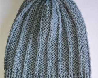 Knitted woman hat
