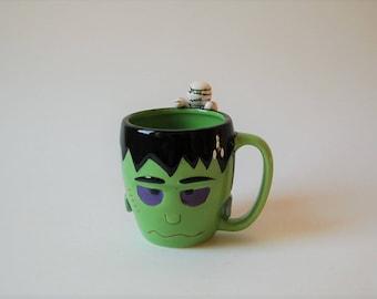 Frankenstein and Mummy Mug