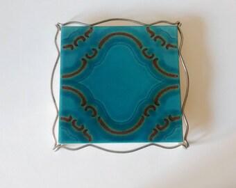 Vintage ceramic trivet - Villeroy et Boch - Germany