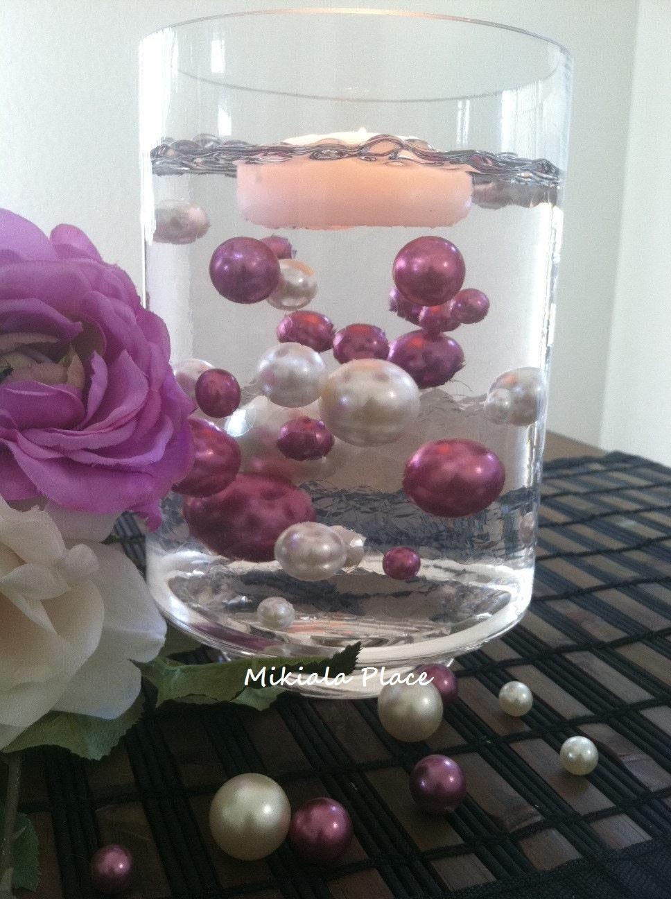 Ivoryorchid jumbo floating pearls for vase fillerswedding description elegant floating pearls reviewsmspy