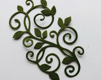 Beautiful Leafy Branches Set of 8