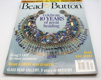 Bead and Button magazine - beading, jewelry making, patterns, instructions and inspiration