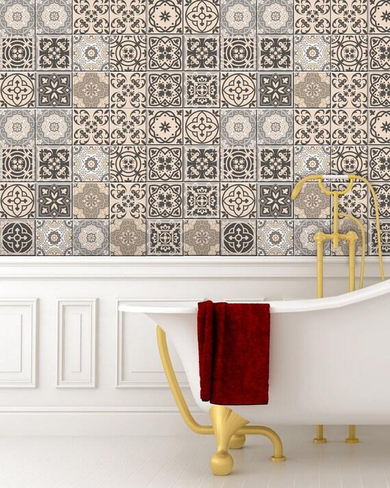decor ideeën badkamer stickers tegel Sticker ingesteld van 24