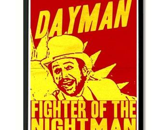 Dayman Wall Art Poster Print (Always Sunny In Philadelphia)