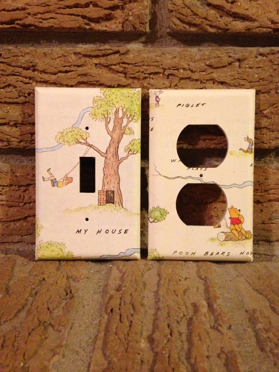 Hundred Acre Woods Winnie The Pooh Light Switch And Electrical