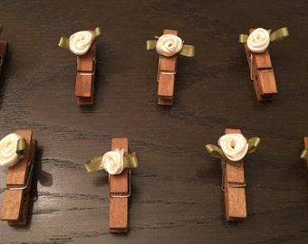 Set of 20 - Cute Clothes Pins
