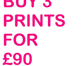 SPECIAL OFFER - 3 PRINTS