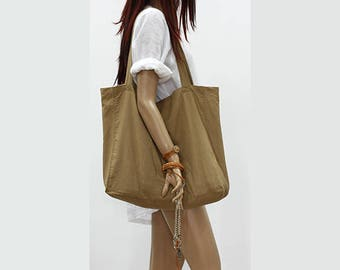 Linen bag / Linen tote bag / Linen shopping bag /Linen beach bag