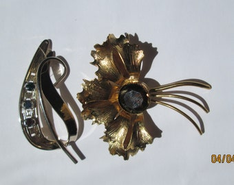 Two Brooches for the Price of One -- FREE SHIPPING