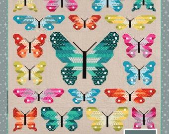 Lepidoptera by Elizabeth Hartman  -  Quilt Pattern