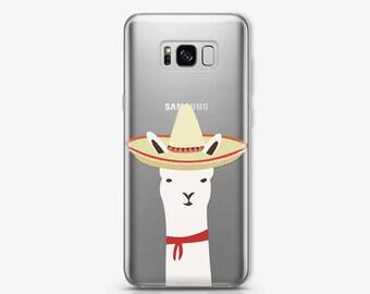 Llama Samsung S8 Case iPhone 6 Case Samsung S7 Cute Case Samsung S8 Plus Animals Case iPhone Case Samsung Note 5 Case iPhone X Case AC1408