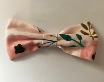 Blush rose bow