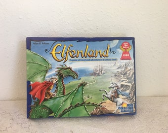 ELFENLAND, fantasy game, role playing game, vintage board game