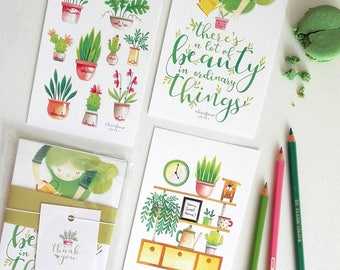 Little Things - Set of 3 Small Art Prints