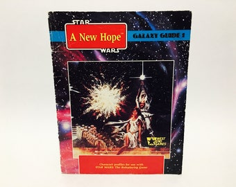 Star Wars Galaxy Guide Book Vol. 1 First Edition 1989 RPG Companion Softcover