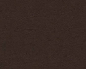 "SALE 40% OFF 57"" Outback Canvas in Chocolate from Robert Kaufman Fabrics"