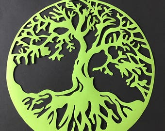 "Painting ""Tree of life"" customizable and easy to frame"
