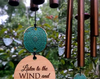 Memorial Wind Chime Gift After Loss Wind Chime Loved One In Memory of Baby or Adult