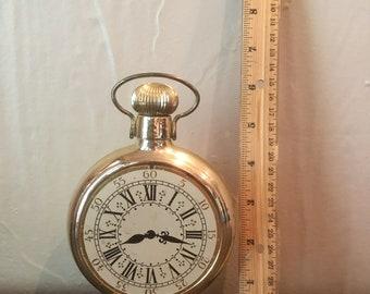 Daylight Shaving Time Avon Clock Bottle