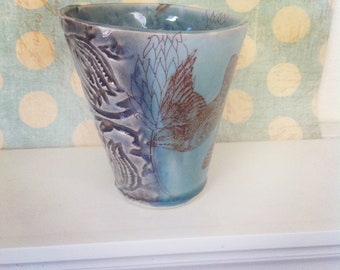 Birds in Flight Wine Cup