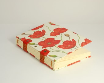 Ivory paper 180pages, diary, travel journal, Coptic bound notebook, travel journal, notebook