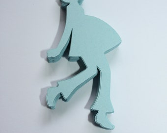 24 x Expecting Mommy Die Cuts - Pastel Blue