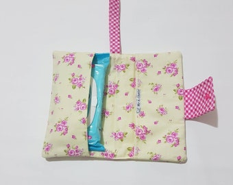 Baby wipe an diaper carrier