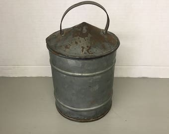 Antique Tin Canister