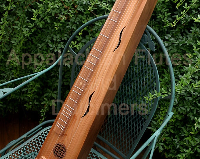 Full-size German Style Hand-Made 8-string Scheitholt - with optional Belcat UK-2000 Electric