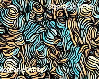 Wall Art - curly whirly