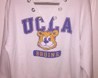 Custom College Tailgate Grommet Triangle Sweatshirt