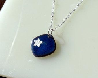 Blue Sky Star Necklace
