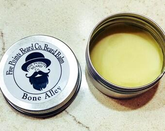 Five Points Beard Co. Beard Balm for Men - Bone Alley - 1 oz Beard Conditioner. Beard Oil. Gift for Him. Gift for Dad. Beard Care.