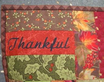 Thanksgiving Lap Quilt - Autumn Quilt