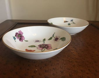 Royal Worcester Astley Oven to Table cereal or salad bowls set of two