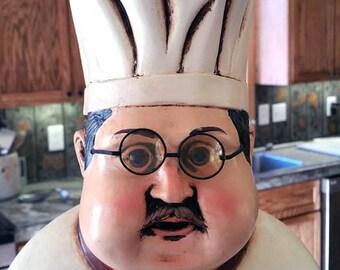 Vintage  Kitchen Chef Statue