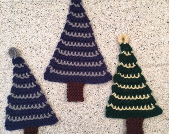 Tree Ornament -- a loom knit pattern