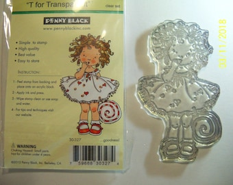 Penny Black: Goodness Clear acrylic stamp