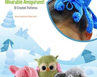 CROCHET PATTERN- Amigurumi Hair Bun Cover Pattern eBook