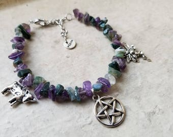 Vegan Witch Bracelet