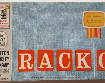 Vintage 1961 RACK-0, 4615 Edition By Milton Bradley Company -  100% Complete