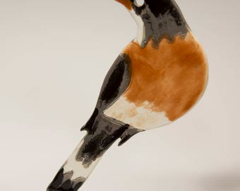 Ceramic Bird Robin - Ornament....