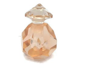 Perfume Bottle Handcut Crystal from IRICE Vintage 1950's