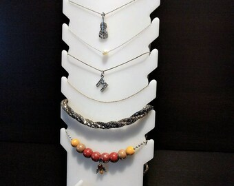 Displayer for Necklaces, Bracelets, Earrings | Jewelry Organizer, Holder Stand Board for Jewels