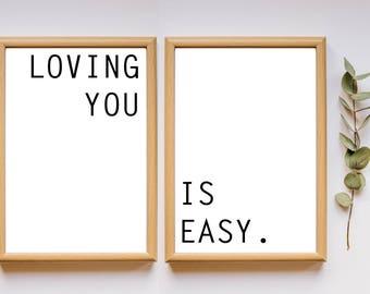 Wall Art - Love Series
