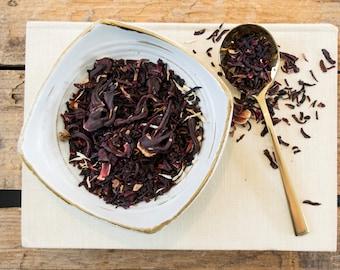 Hibiscus Tea / Hibiscus Herbal Tea / EGYPTIAN HIBISCUS Blossom Herbal Tea
