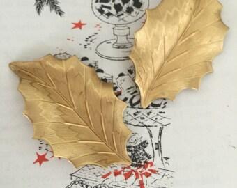 Holly Leaf (2 pc)